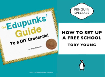 Covers of The Edupunks' Guide and How to Set Up a Free Schoo