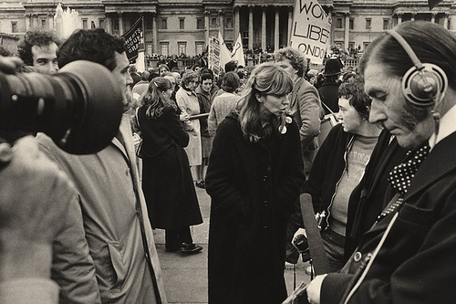 Making a Documentary Photograph: Women's Liberation March, London, 1979, by Tony Hall