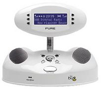 The Bug DAB digital radio, from Pure Digital